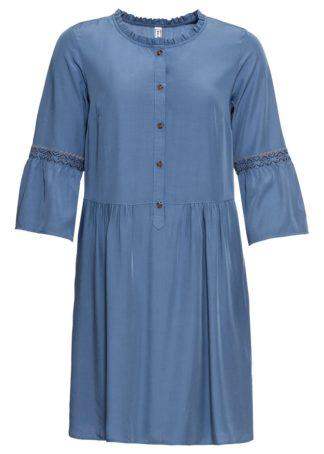 Sukienka bonprix niebieski dżins