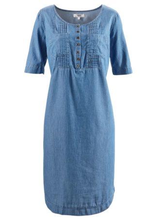 Sukienka bawełniana dżinsowa