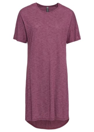 Sukienka bonprix jeżynowy melanż