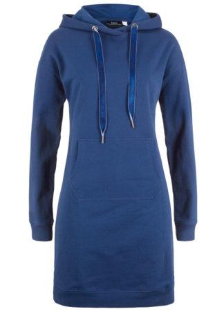 Sukienka dresowa bonprix kobaltowy