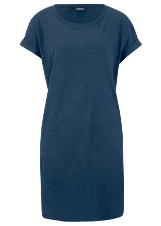 """Sukienka shirtowa """"boxy"""" bonprix ciemnoniebieski"""