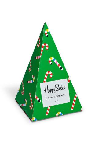 Happy Socks - Skarpetki Holiday Tree Gift Box (3-pak)