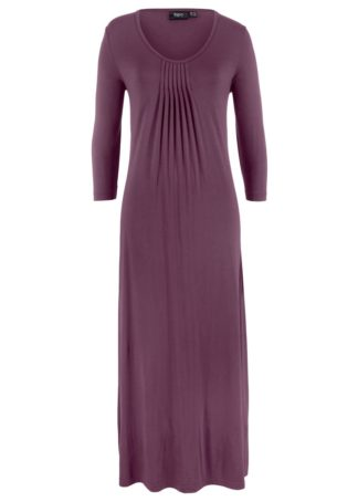Długa sukienka o linii litery A