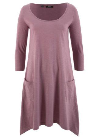 Sukienka bawełniana shirtowa z przędzy mieszankowej