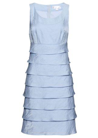 Sukienka bonprix pudrowy niebieski