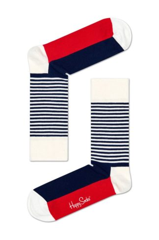 Happy Socks - Skarpetki Stripe Gift Box (4-pak)