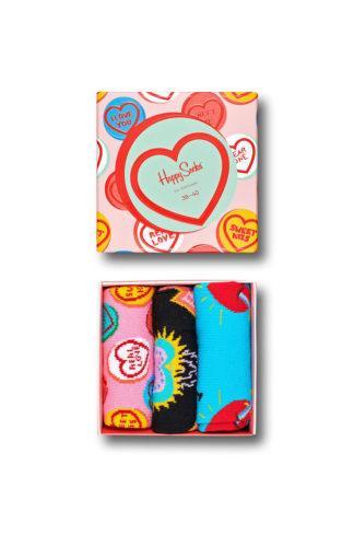 Happy Socks - Skarpetki I Love You (3-pack)