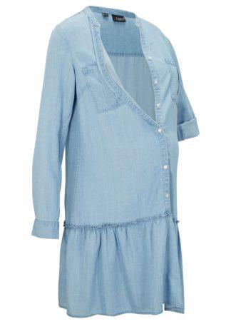 Sukienka ciążowa i do karmienia bonprix jasnoniebieski