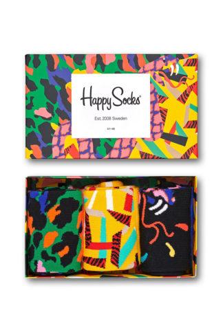Happy Socks - Skarpetki Abstract Animal (3-pack)