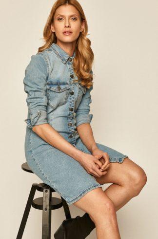 Jacqueline de Yong - Sukienka jeansowa