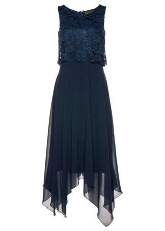 Sukienka Premium bonprix ciemnoniebieski