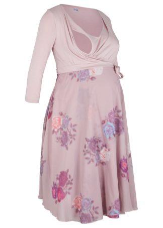 Sukienka shirtowa ciążowa i do karmienia piersią