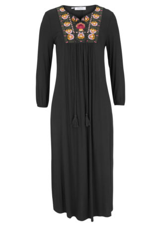 Sukienka z kolekcji Maite Kelly bonprix czarny