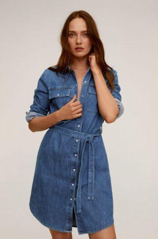 Mango - Sukienka jeansowa Sharon