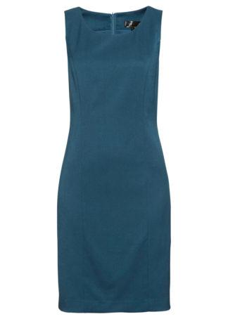 Sukienka ołówkowa bonprix niebieskozielony