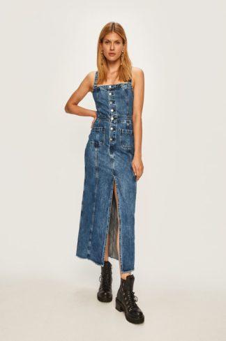 Pepe Jeans - Sukienka jeansowa Lottie x Dua Lipa