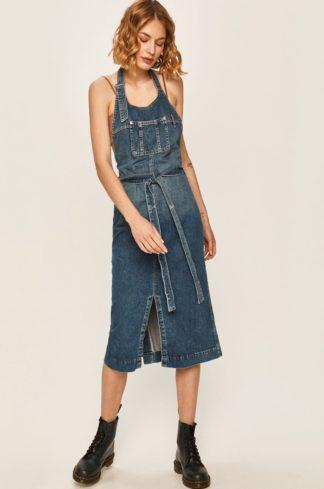 Pepe Jeans - Sukienka jeansowa Kate x Dua Lipa