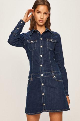 Pepe Jeans - Sukienka jeansowa Dakota x Dua Lipa