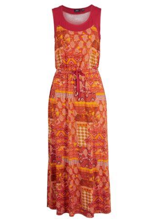 Sukienka midi drukowana
