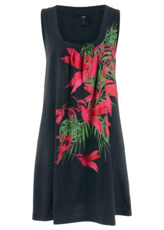 Sukienka plażowa bonprix czarny