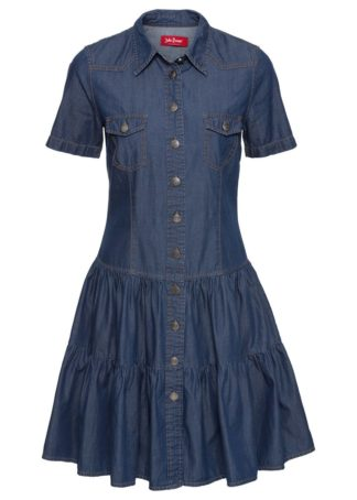Sukienka dżinsowa z guzikami
