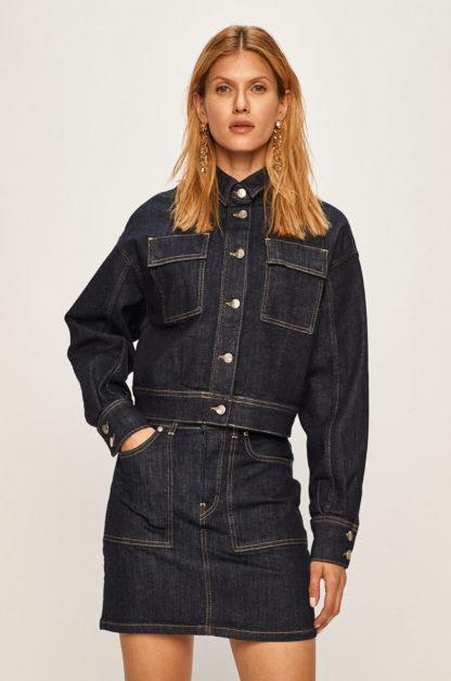Pepe Jeans - Kurtka jeansowa Peggy x Dua Lipa
