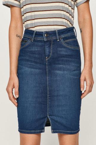 Pepe Jeans - Spódnica jeansowa Taylor