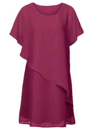 Sukienka z tkaniny bonprix magenta
