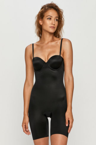 Spanx - Body modelujące Strapless Cupped Mid-Thigh