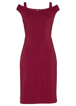 Sukienka bonprix ciemnoczerwony