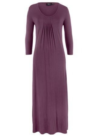 Długa sukienka ze stretchem