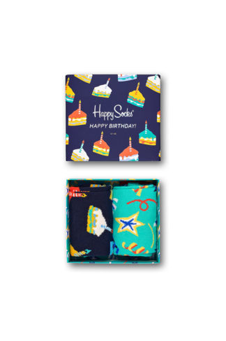 Happy Socks - Skarpetki Birthday (2-pack)