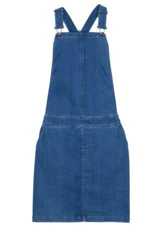 Sukienka dżinsowa ogrodniczka