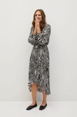 Mango - Sukienka Zebra