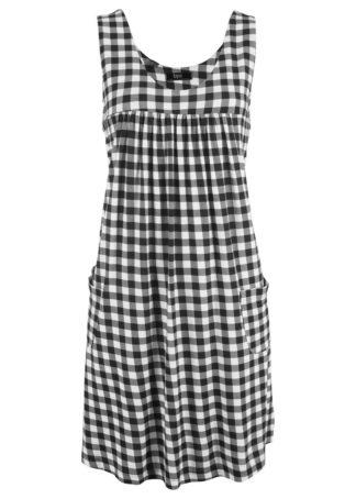 Sukienka z dżerseju z kieszeniami