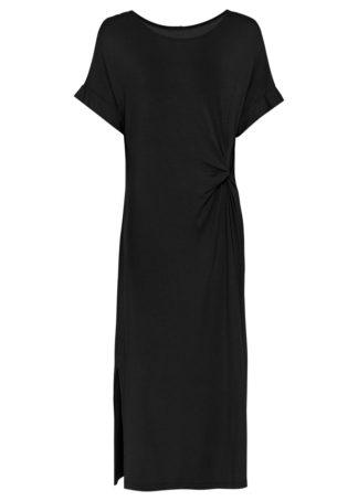 Długa sukienka bonprix czarny