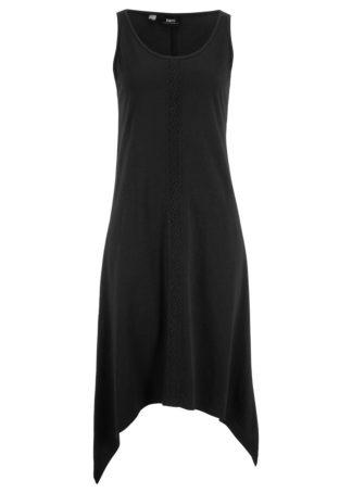Długa sukienka z dłuższymi bokami