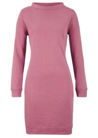 Sukienka dresowa bonprix jeżynowy sorbetowy