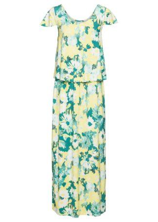 Długa sukienka z dżerseju