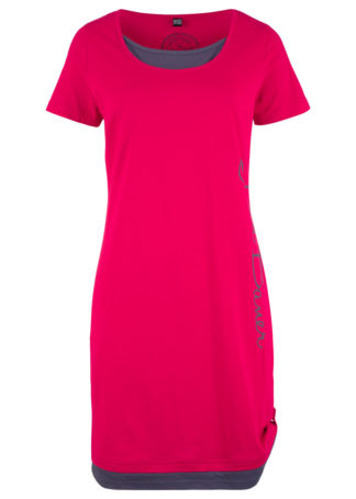 Sukienka  shirtowa z nadrukiem