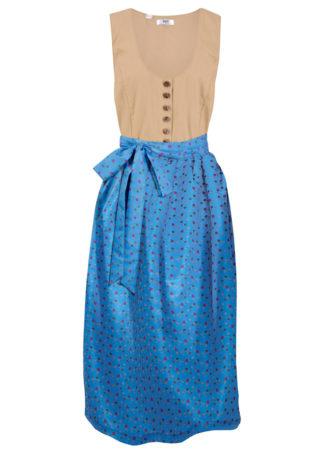 Sukienka ludowa z fartuchem