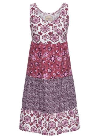 Sukienka bawełniana z dżerseju