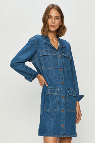 Wrangler - Sukienka jeansowa