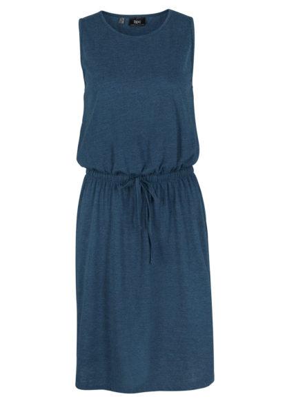 Sukienka bonprix ciemnoniebieski melanż