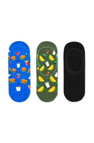Happy Socks - Stopki Hamburger (3-pack)