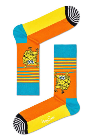 Happy Socks - Skarpetki Lets Wort It Out x Sponge Bob