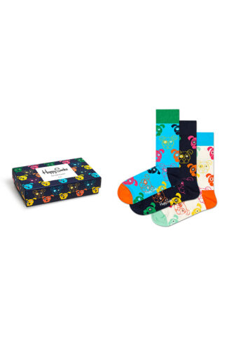 Happy Socks - Skarpetki Mixed Dog Gift Set (3-pack)