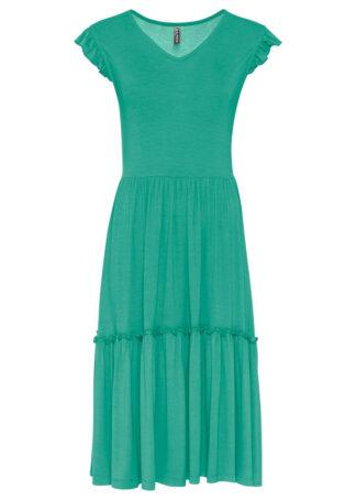 Sukienka bonprix zielony oceaniczny