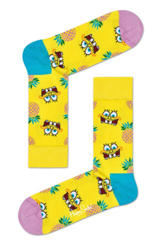 Happy Socks - Skarpetki Sponge Bob Fineapple Surprise
