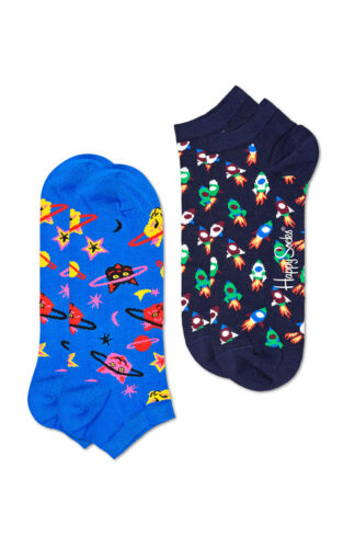 Happy Socks - Stopki Space Cat (2-pack)